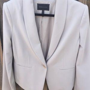Cream Buttoned Blazer